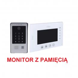 Zestaw Monitor wideodomofonu Vidos M670WS2 + Stacja Bramowa wideodomofonu S20DA