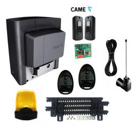 Napęd do bramy CAME BX PLUS SPACE + lampa led + antena radiowa + listwa zębata