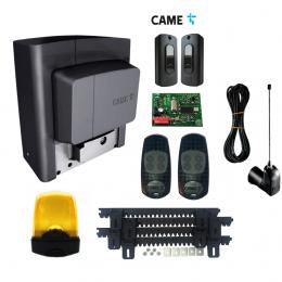 Napęd do bramy CAME BX PLUS ATOMO+ antena radiowa + lampa led+ listwa zębata
