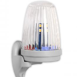 Lampa Ledowa 24/230V z wbudowaną anteną 433,92 Mhz Biała