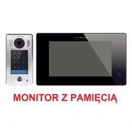 Zestaw Monitor wideodomofonu Vidos M1021B + Stacja Bramowa wideodomofonu S1301D