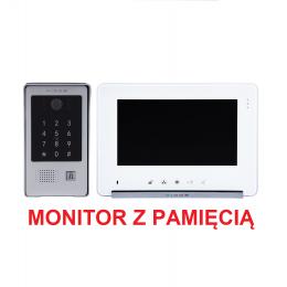 Zestaw Monitor wideodomofonu Vidos M690W S2 + Stacja Bramowa wideodomofonu S20DA